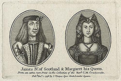 Margaret Tudor & James IV
