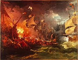 Philip II sends the Spanish Armada