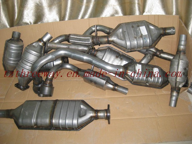 Catalytic convertors introduced on cars
