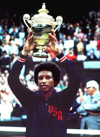 Arthur Ashe First Black Man to Win Wimbledon