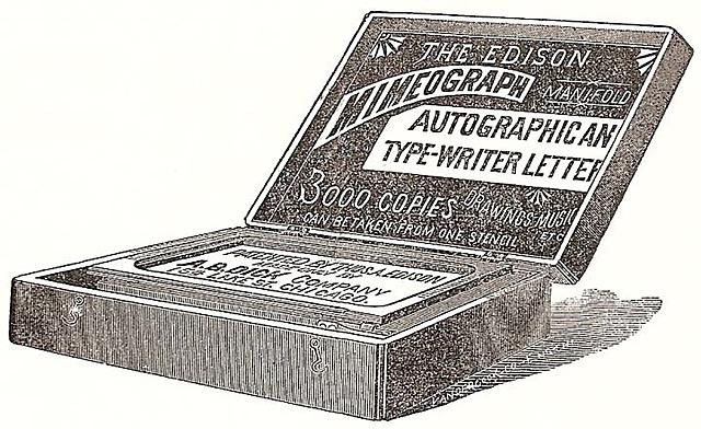 mimeograf