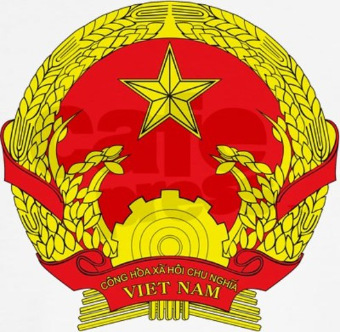 North and South Vietnam Join to Form the Socialist Republic of Vietnam