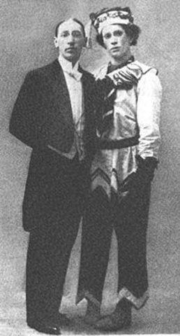 "Stravinsky: "" Petrouchka,"" ballet, Paris"