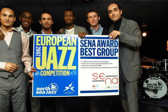 Jazz arrives in Europe