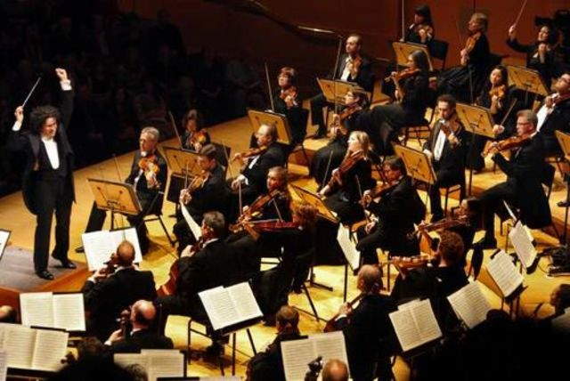 Los Angeles Symphony gives its first concert