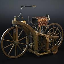 Daimler invents the Motorcycle
