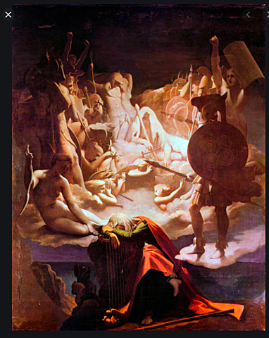 The medieval poet Ossian
