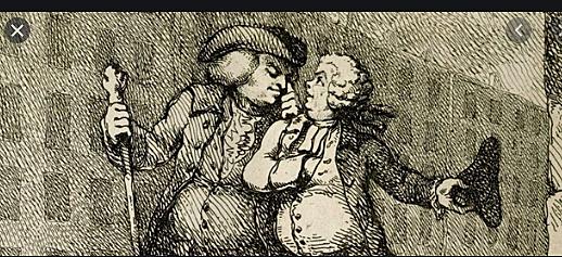 James Boswell meets Samuel Johnson