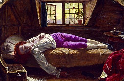 Thomas Chatterton suicides