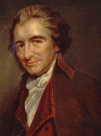 Thomas Paine emigrates to America