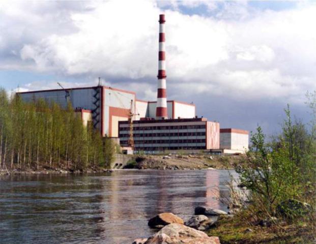 Россия, Мурманская область, пос. Полярные Зори, Кольская АЭС