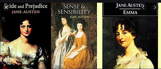 Jane Austen's novels are published