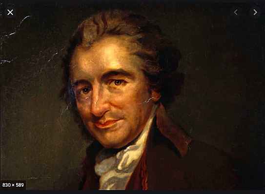 William Cobbett brings back to England the bones of Thomas Paine