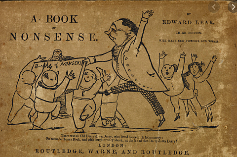 Edward Lear publishes his Book of Nonsense