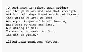 Tennyson publishes a poem finding heroism