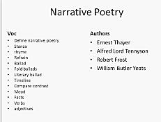 Tennyson publishes a long narrative poem