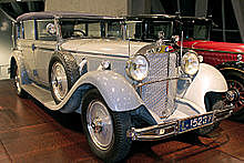 """Significant models: 1930 770 """"Großer Mercedes"""" state and ceremonial car"""