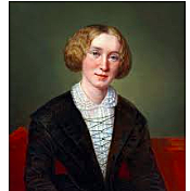 English author George Eliot wins fame with her first full-length novel