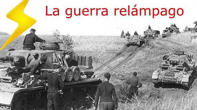 1ª fase (Guerra Relâmpago / Blitzkrieg)