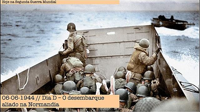 Dia D: Desembarque das tropas aliadas