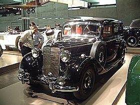 Significant models: 1936 260 D