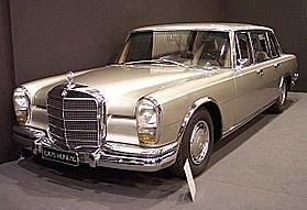 """Significant models: 1963 600 """"Grand Mercedes"""""""