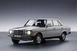 Significant models: 1977 W123