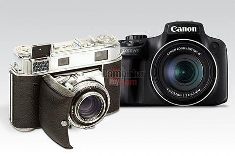 Primera cámara comercial de la historia