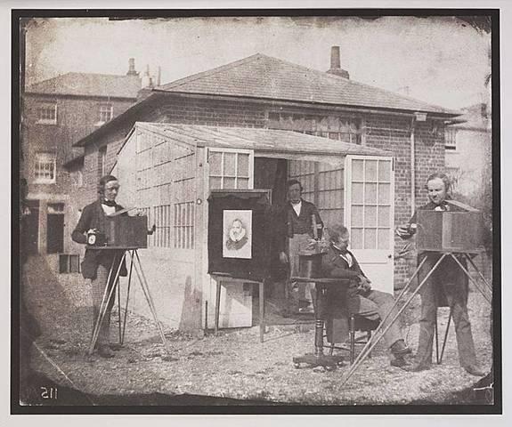 Primera sociedad fotográfica de la historia
