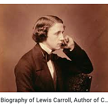Oxford mathematician Lewis Carroll tells a story