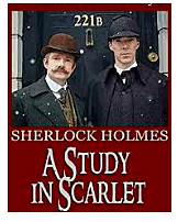 Sherlock Holmes features in Conan Doyle's first novel