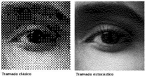 Técnica de impresión en medios tonos