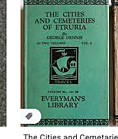 The first volume of the inexpensive Everyman's Library
