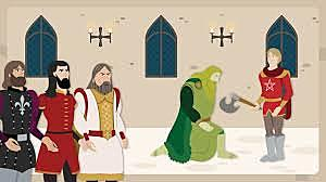 ARTHURIAN STORIES: SIR GAWAIN AND THE GREEN KNIGHT