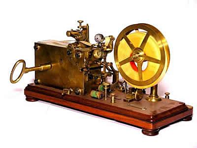 Invenção do telégrafo elétrico