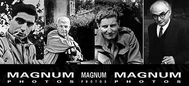 Se funda la agencia Magnum