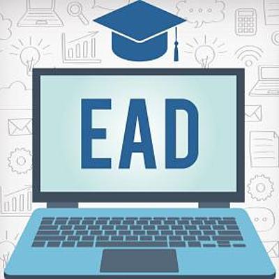 Linha do Tempo - Ensino a Distância (EAD) timeline