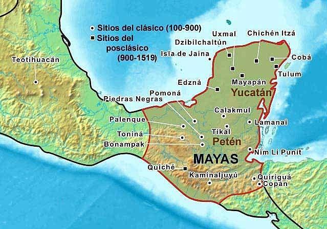 Surgimiento de la civilización Maya