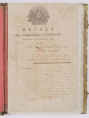 Finalização e publicação da constituição