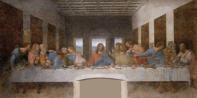 La Última Cena, da Vinci