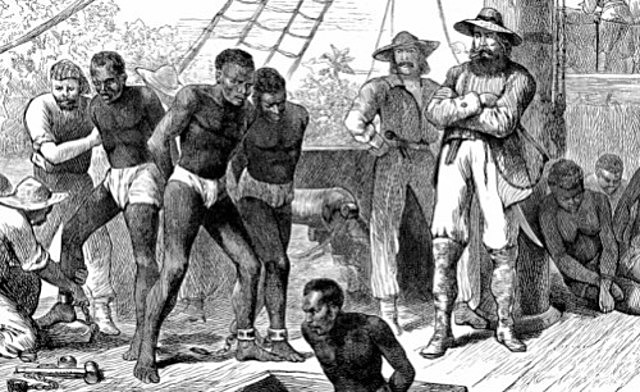 The first 20 slaves were sold to the settlers in Virginia