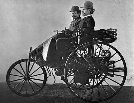 The car commonly know as the First car in history