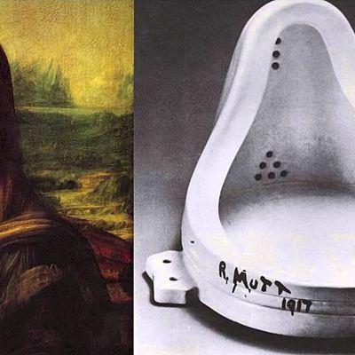 Eje cronlógico. Arte Moderno y Contemporáneo. timeline
