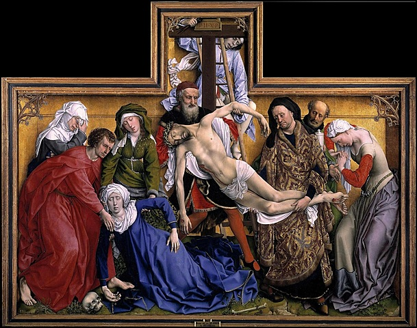 Gótico internacional. Flandes - Roger van der Weyden (ca. 1443).