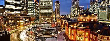 Tokyo becomes Capital