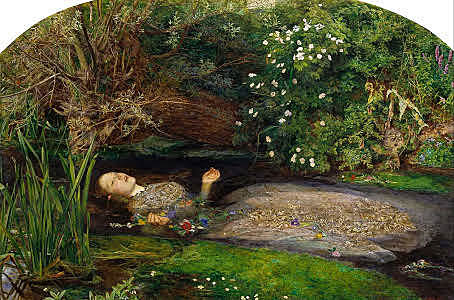 """""""Ofelia"""" Millais"""