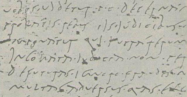 Scrittura manuale corsiva