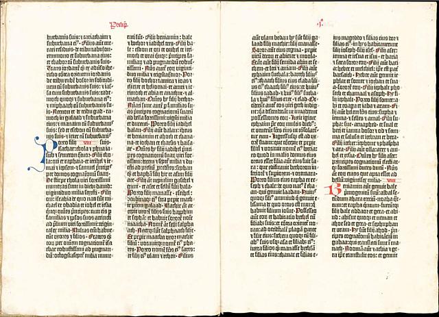 Bibbia a 42 linee - B42