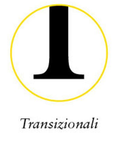 Caratteri Transizionali