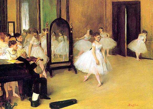 La classe de dansa